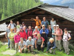 Wandergruppe Buchs in Oberalp ob Monstein